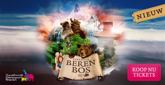 Expeditie Berenbos in Ouwehands Dierenpark Rhenen