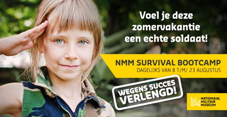 Stoere survival voor de kids in het Nationaal Militair Museum