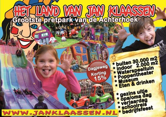 Kortingsbon voor Het Land van Jan Klaassen