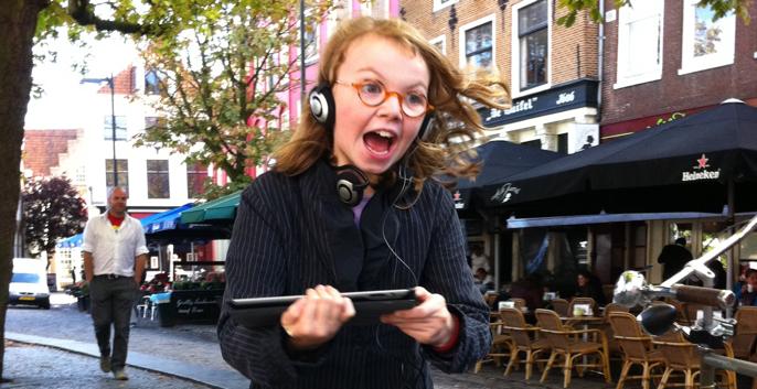 Speel een spannende iPad game in binnenstad Utrecht