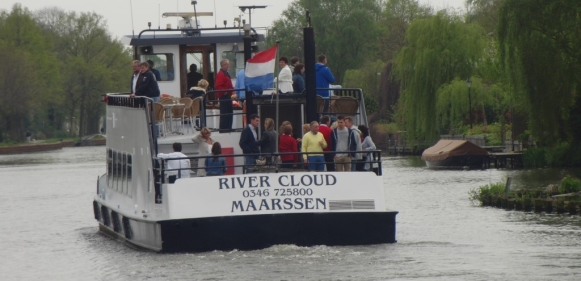 Varen met de River Cloud met Rederij Stichtse Vecht