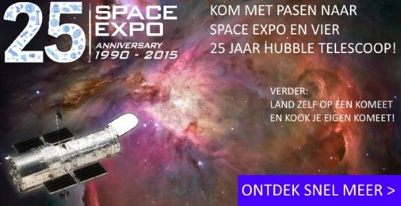 Kom met Pasen naar Space Expo