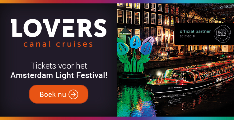 Geniet van het schitterend verlichte Amsterdam!