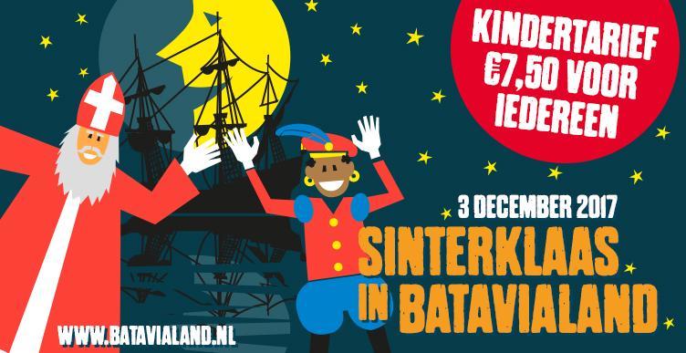 Bezoek Sinterklaas in Batavialand!