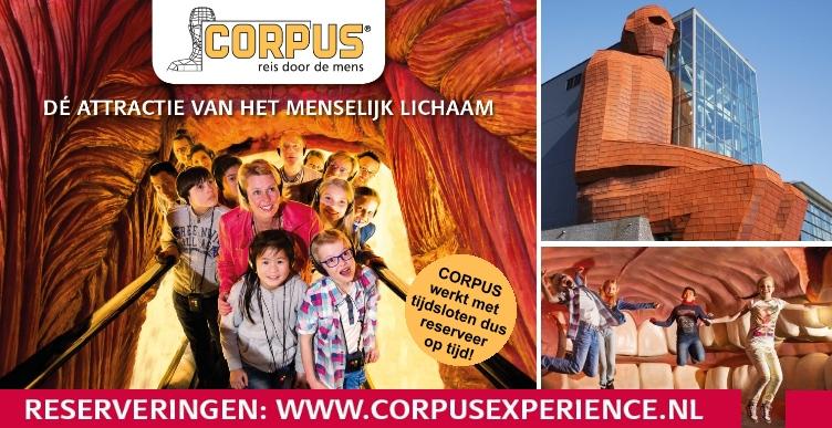 Bezoek CORPUS 'reis door de mens'
