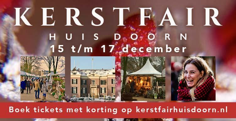 Bezoek de kerstfair op Huis Doorn!
