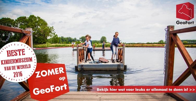Vier de zomer op GeoFort!