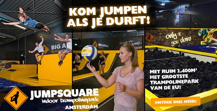 Kom jumpen bij Jumpsquare Amsterdam!