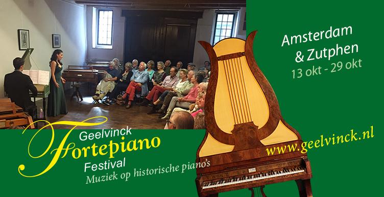 Bezoek het Geelvinck Fortepiano Festival!