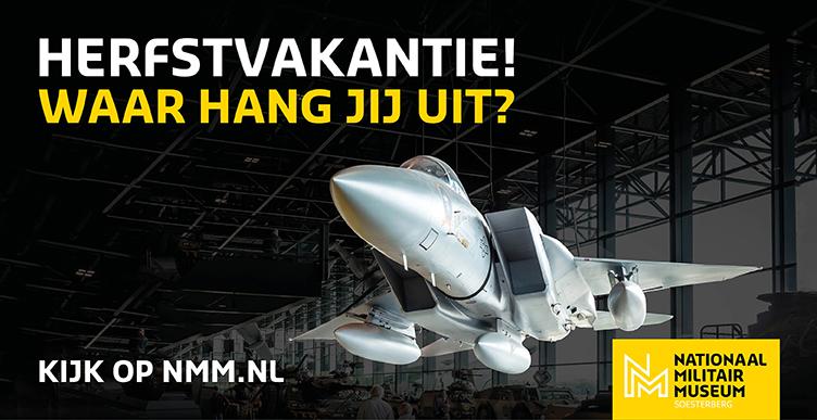 Bezoek het Nationaal Militair Museum in herfstvakantie!