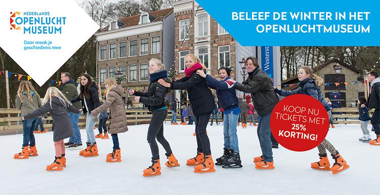 Beleef de winter in het Nederlands Openluchtmuseum!