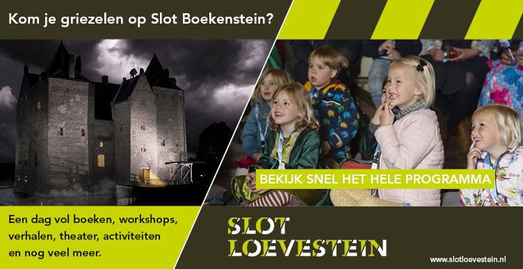 Kom je griezelen op Slot Boekenstein?