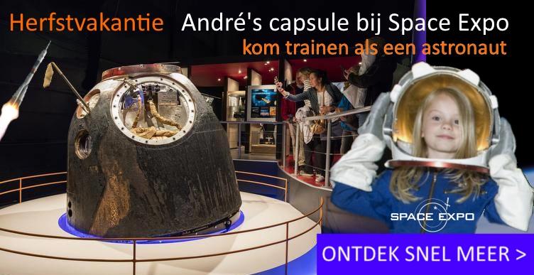 Kom trainen als een astronaut bij Space Expo!
