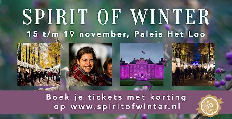 Kom wintershoppen bij Spirit of Winter!