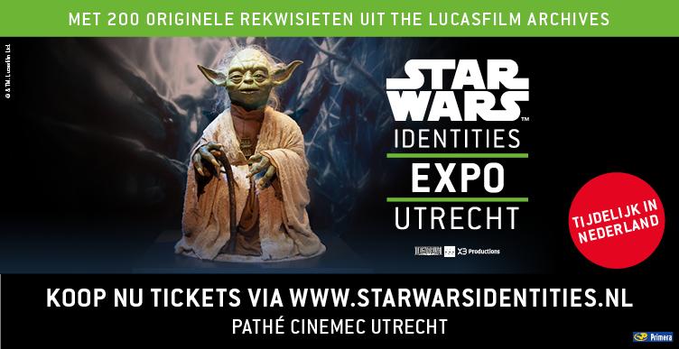 Ontdek alles over Star Wars bij STAR WARS Identities: The Exhibition!
