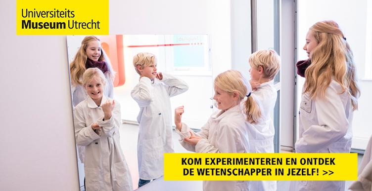 Experimenteren in Universiteitsmuseum Utrecht!