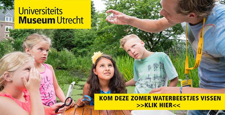 Zoek waterbeestjes in Universiteitsmuseum Utrecht!
