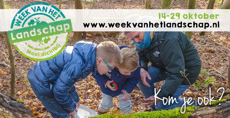 Ga mee met de boswachter tijdens de Week van het Landschap!
