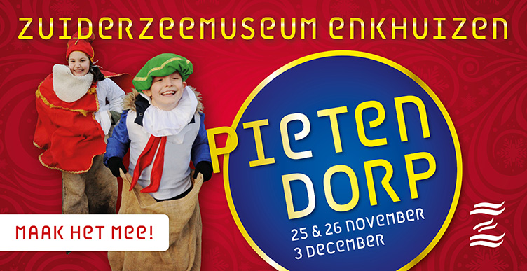 Bezoek het Pietendorp in het Zuiderzeemuseum!