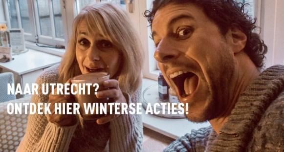 Geniet van de gezelligheid in winters Utrecht