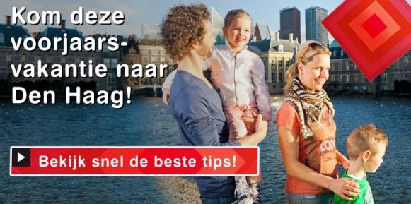 Bezoek Den Haag in de Voorjaarsvakantie!