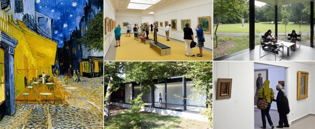 Grootste Van Gogh collectie en beeldentuin vind je in Kr�ller M�ller Museum te Otterlo