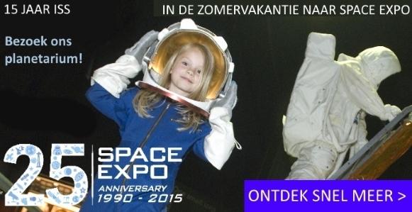 Vier de zomervakantie in Space Expo