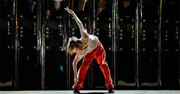 Een dansende Billy Elliot