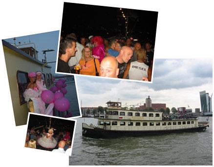 feesten op een boot