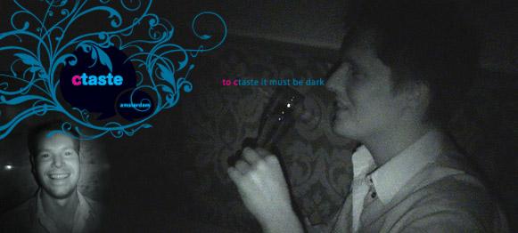 Eten in het donker