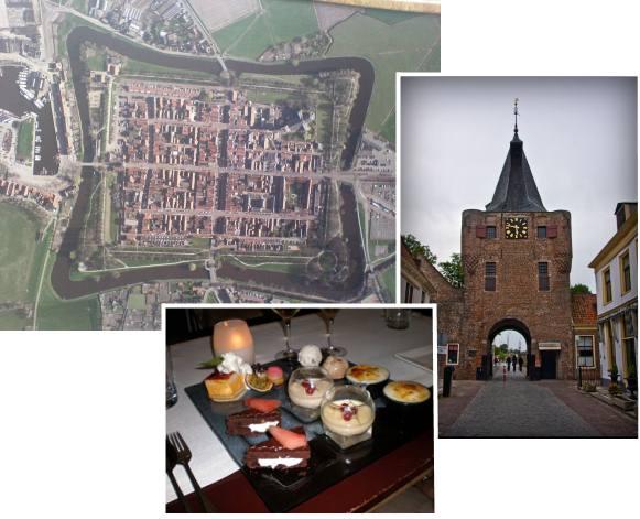 Wandelen door Elburg