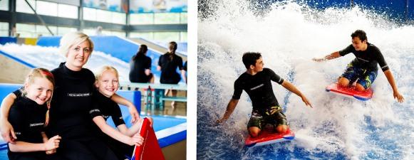 Bodyboarden bij Dutch Water Dream
