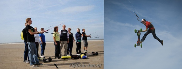 Actief uitje: flyboarden