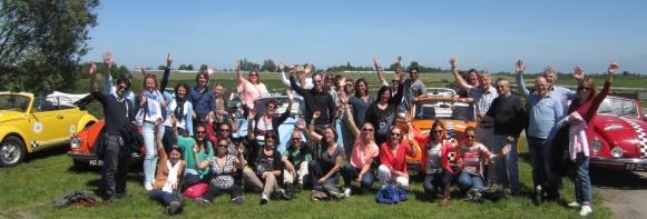 Het leukste bedrijfsuitje: toer in een Kever Cabrio door het Groene Hart!
