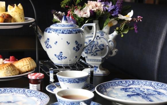 Geniet van een high tea bij Royal Delft