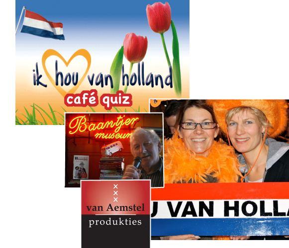 Ik Hou van Holland Quiz in Amsterdam