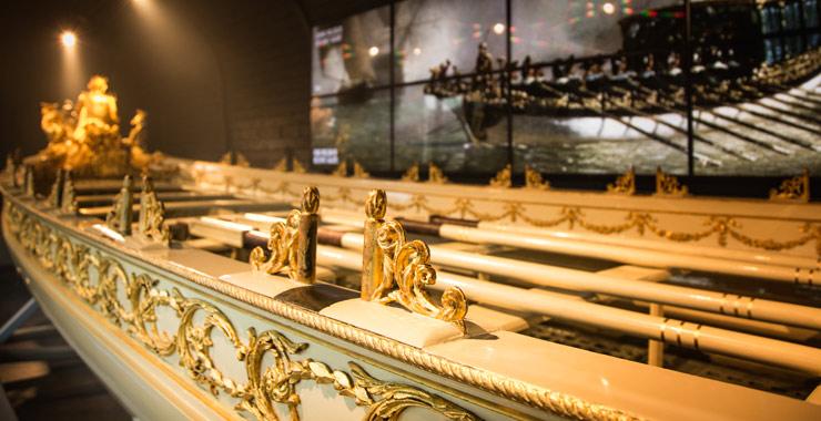 Koningssloep in Het Scheepvaartmuseum