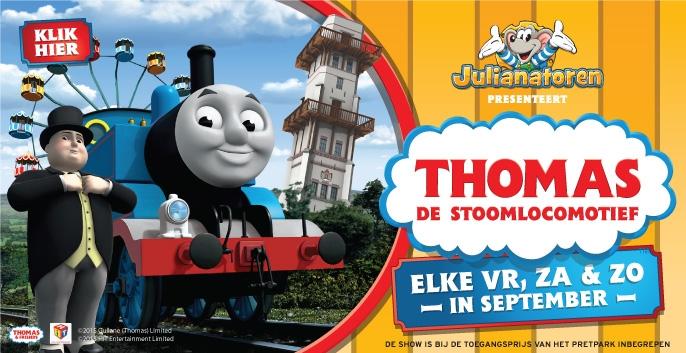 Ontmoet Thomas de Stoomlocomotief