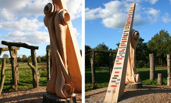 Bekijk de Puttense woodhenge!